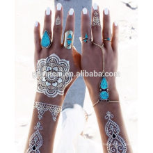 Tatuajes de henna temporales personalizados (serie de diseño Mehndi)