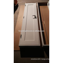 White Primed One Panel Shaker Wood Door