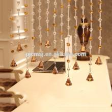 горячие продажи кристалл янтаря украшают бусины занавес висит кристалл для украшения дома экологичный