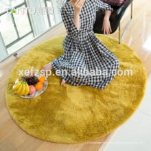 Alfombrillas interiores 100% poliéster microfibra frente alfombra Alfombra peluda 100% poliéster impresa impermeable