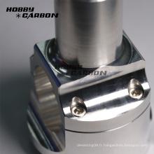 Pièces de moto cnc en aluminium sur mesure