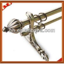 Luxury Aluminum Double Metal Adjustable Curtain Rod Bracket