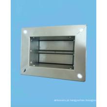 Amortecedor de duto de ar Manual galvanizado