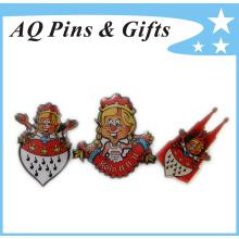 Full Color Print Metal Badge-Low Cost, Great Details (badge-155)
