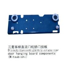 Componentes da placa do rolo da suspensão da porta do elevador