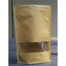 Emballage alimentaire Professionnel Sachet de sac en papier Kraft sur mesure, scellant manuel en plastique pour sac à thé