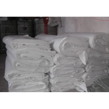 Tissu gris 100% coton 100% chaud