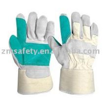 leather working glove