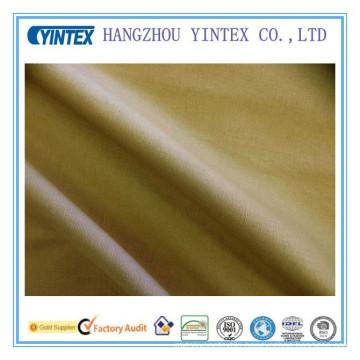 Soft 100% Cotton Satin Cotton Fabric Dyed Twill