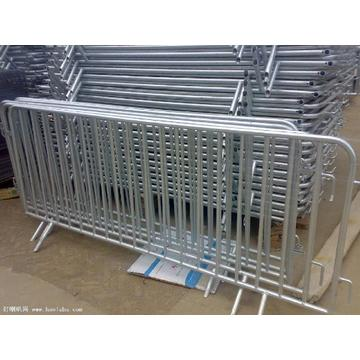 jualan teratas Galvanized Crowd Control Traffic Barrier