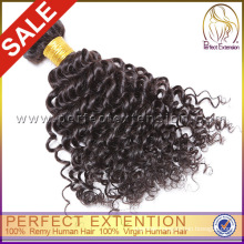 For Black Woman 5a Hair Weave Virgin Remy Mongolian Afro Kinky Curly Hair