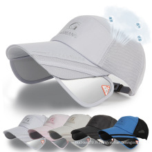 Casquette de loisirs faite sur commande de chapeau de baseball de coton de 2016 avec le logo adapté aux besoins du client