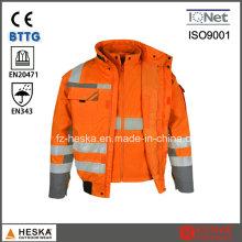 Привет куртка 3 в 1 Vis 3 m светоотражающие зима пиджак с съемные рукава