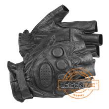 Polizei / Taktische Handschuhe Sicherheit Fingerlose Handschuh mit ISO Standard