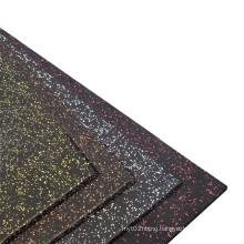 No Formaldehyde Commercial Gym Flooring Mat Fitness Rubber Flooring