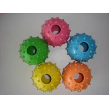 Ring Barbed Rubber Ball Pet Toys