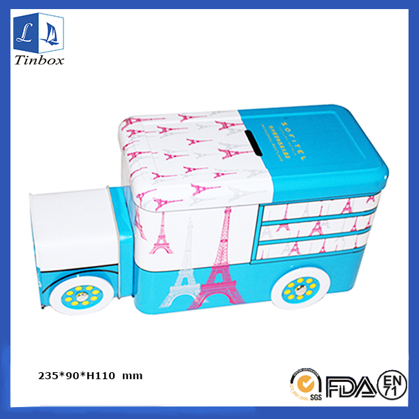 Car Shape Empty Beautiful Gift Tins