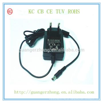 Adaptador universal da CC da CA de 17V 500mA KC