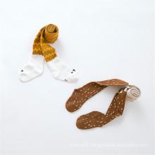 Very Cute Designs Kid Fox Pattern Little Girl Cotton Tights/Pantyhose