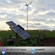 sistema solar do vento da fora-Grade para o poder verde