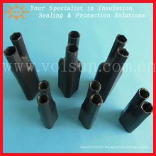 Black adhesive lined anti tracking cable breakouts