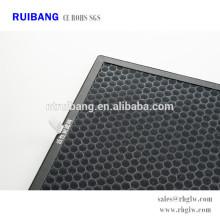 o ar da fabricação purifica o filtro em caixa de ar do carbono ativado