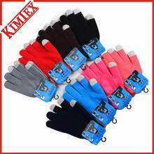 Wholesales Winter 100% Acrylic Knitted iPad Glove