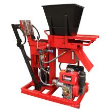 Le moteur diesel a battu la brique de terre d'hydraform faisant le prix de pièces de machine de machine
