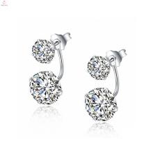 Newest Simple 925 Sterling Silver Earrings Jewellery