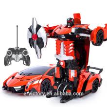 Cheap transformation toys transfer rc car transform car Intelligent Shape