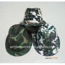 2012 Fashion Camouflage Fedora Hats