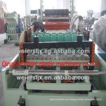 ABC tres capas pvc techo corrugado que hace la máquina