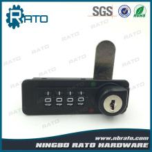 Digital Mailbox Combination Lock with Master Key