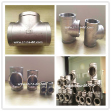 Pipe Fittings, Straight Tee, Factory