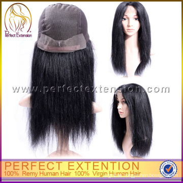 Buy Cheap Human Hair Invisible Hair Line 16 Inch Full Lace Wig