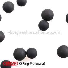 Boule en caoutchouc solide et creuse de NBR, EPDM, Silicone, FKM