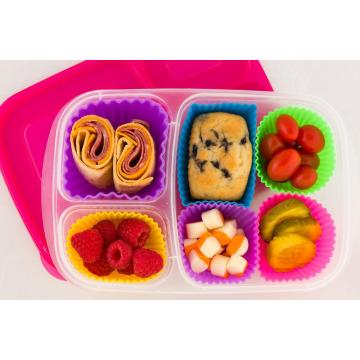 Set da forno in silicone Set di 12 muffin in silicone