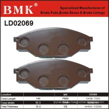 Adanced Quality Brake Pad (D2069)