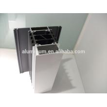 Perfiles de aluminio en recubrimiento en polvo