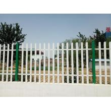Panel pvc Painted galvanized palisade panel pagar