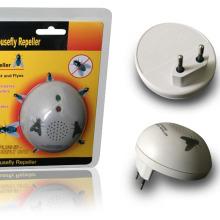 Zolition weatherproof ultrasonic housefly electronic pest smart sensor repeller ZN-206