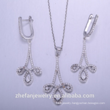 China manufacture 925 sterling silver pendant necklace exported to worldwide