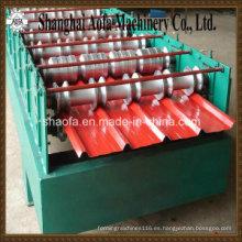 Máquina formadora de rollos de placa corrugada (AF-C760)