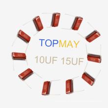 Topmay 2016 Populaire Condensateur Film Polyester Métallisé Mkt-Cl21 6.8UF 5% 100V