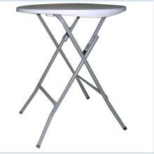 Mesa redonda plegable plástica de los 61cm, tabla de la barra
