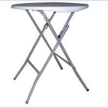 61cm Plastic Folding Round Table, Bar Table