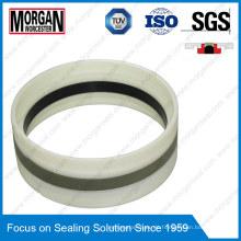 Gd1000k Typ PA / PTFE / POM / NBR Hydraulikzylinder Kolbendichtring
