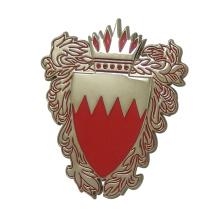 Placa personalizada de la etiqueta del nombre del esmalte del logotipo para la ropa