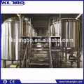 220V / 380V Nanobrewery Two Vessels Steam or Electric Heated Brewhouse for Brewing Equipment