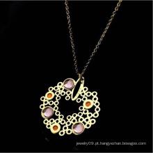 Moda jóias acessórios colar de jóias de aço inoxidável (hdx1111)